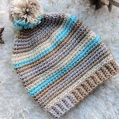 One Skein Basic Stripes Slouch Hat Beginner Free Crochet Pattern : One Skein Ba. : One Skein Basic Stripes Slouch Hat Beginner Free Crochet Pattern : One Skein Basic Stripes Slouch Hat Beginner Free Crochet Pattern – CrochetKim™ One Skein Crochet, Crochet Beanie Pattern, Loom Knitting Patterns, Single Crochet, Crochet Patterns, Crochet Hats, Hat Patterns, Knitting Tutorials, Crochet Granny