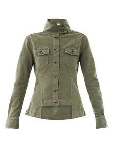 Chamberlain cotton army jacket  Rag & Bone- perfect for dressing like Martha