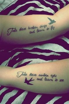 25 Best Friendship Quotes Tattoos Images Quote Tattoos Sibling