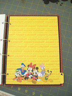 Schell's Craft Corner: Disney Smash Book :o)