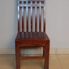 krzesło kolonialne kratka