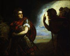 John Henderson as Macbeth by George Romney (1787)