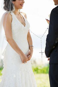 catholic wedding traditions. photo by amybennettphoto.com