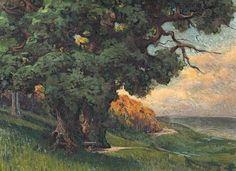 Landschaftsbild von Walter Leistikow, Berliner Galerie