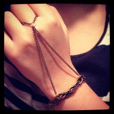 The 'BridgingTheGap' Chain Handpiece by SHUTUPnoway on Etsy, $18.00