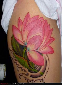 Lotus-flower-tattoo-black-and-grey-for-men.jpg (630×865)