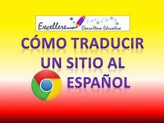 Cómo traducir un sitio al español instalando una aplicación de Google - YouTube