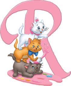R Aristocats Alphabet (Oh My Alfabetos!)