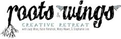 Roots & Wings Retreat in Layton, Utah. August 8-10, 2013 with instructors Katie Kendrick, Misty Mawn, Judy Wise and Me (Stephanie Lee). :)