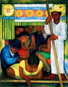 diego rivera famous paintings | Diego Rivera's First Paintings Instructor