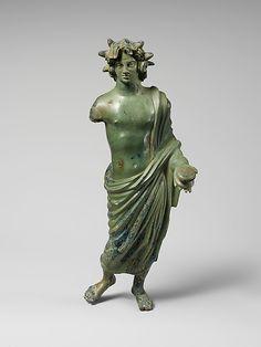 Bronze statuette of a solar deity  Period: Hellenistic Date: 3rd–2nd century B.C. Culture: Etruscan