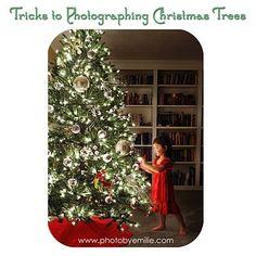 christmas tree photography tricks