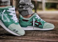 Highs and Lows x Asics Gel Lyte III 'Silver Screen' (by theyareonlyshoes)