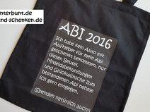 Abitur   Beutel ABI 2016 Geschenk Zum Abitur
