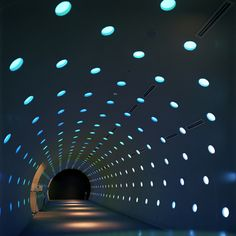 dots in a tunnel Stage Lighting, Cool Lighting, Lighting Design, Beautiful Architecture, Beautiful Buildings, Architecture Design, Urban Nature, Parking, Interior Exterior