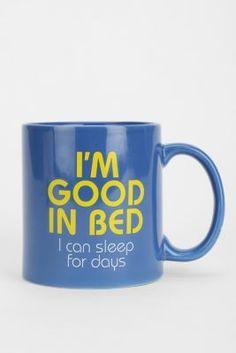 Good In Bed Mug