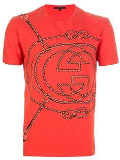 Gucci rope logo t-shirt