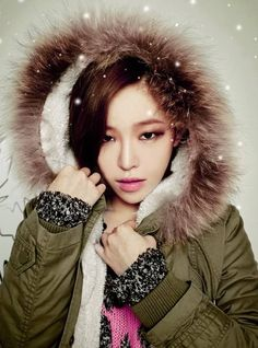 Ga In poses as a stylish winter girl for 'Plus S C. South Korean Girls, Korean Girl Groups, Korean Beauty, Asian Beauty, Monolid Eyes, Ga In, Brown Eyed Girls, Beauty Make Up, Brown Eyes