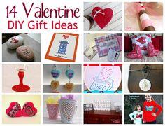 14 DIY Valentine Gift Ideas