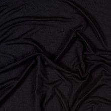 Tissue-Weight Black Silk-Viscose Jersey