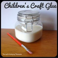 The road to loving my Thermomix: Children's Craft Glue