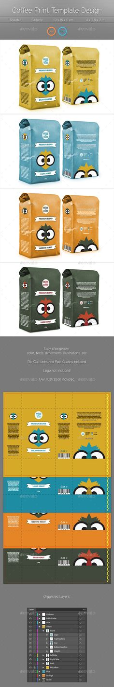 Package Print Template