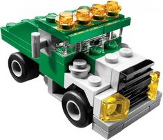 LEGO Set 5865-1 Mini Dumper - building instructions and parts list. Theme: Creator; Year: 2010; Parts: 60; Tags: basic model construction creator traffic truck