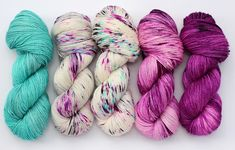 Stitch Mischief - Hand dyed yarn, project bags and all the colors! Dyeing Yarn, Yarn Inspiration, Sweater Set, Hand Dyed Yarn, All The Colors, Fiber Art, Caribbean, Berry, Delicate