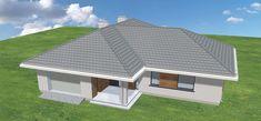 Projekt domu Parterowy 118,23 m2 - koszt budowy 184 tys. zł - EXTRADOM Case, Gazebo, Shed, Outdoor Structures, Outdoor Decor, Home Decor, Kiosk, Decoration Home, Room Decor