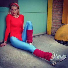 Jane Fonda | 22 Creative Halloween Costume Ideas For '80s Girls jane fonda, halloween costume ideas, 80s girl, halloween costumes, 80s partay, costum idea, 80s theme, halloween parti, creativ halloween