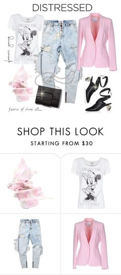 """""""Denim"""" by susans-sg ❤ liked on Polyvore featuring Cadeau, MANGO, MM6 Maison Margiela, Dondup and J.W. Anderson"""