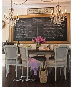 Dining Room   Home And Garden Design Ideas. French Country ...