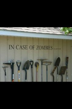 In case of zombies ....