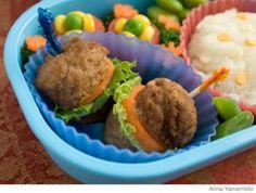 Parenting.com | How to Make a Hamburger Bento Lunch Box