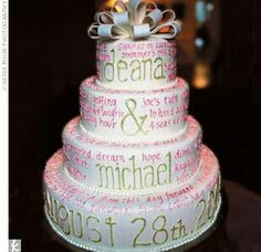 Idea wedding cake