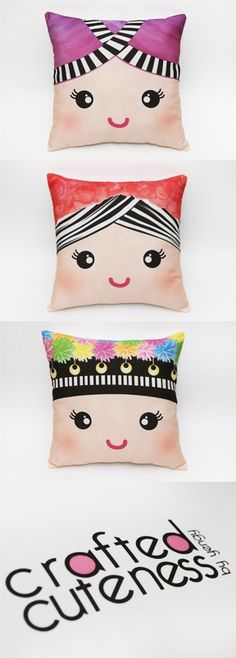 Hmong Pillows i wanna make these