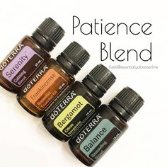 This blend has been diffusing All. Day. Long. As a mom my patience is tested daily.