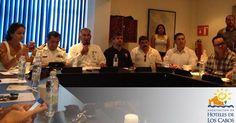 Buenas tardes, les compartimos una fotografía de la reunión de API de Comité Consultivo, donde tuvimos la oportunidad de revisar el estatus de la dársena de Cabo San Lucas. #AccionesAHLC