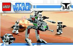 Star Wars Clone Wars - Clone walker battle pack [Lego 8014]