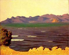 Felix Vallotton - Nabi Period - L'Estérel et la baie de Cannes (1925)