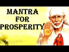 SHIRDI SAI BABA MANTRA : VERY POWERFUL FOR PROSPERITY ! Mantras For Anxiety, Om Mantra, Hindu Mantras, Sanskrit Words, Divine Mother, Spiritual Guidance, Sai Baba, Great Videos, Spiritual Inspiration