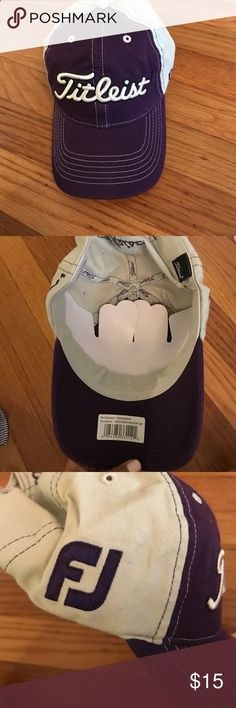 Titleist Purple Golf Hat NWT footjoy label on one side Accessories Hats Golf 2e8296b70381