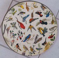 1965 Circular Songbirds Springbok Jigsaw Puzzle