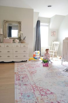 Bedroom Reveal With Rugs Usa S Silky Road Medallion As19 Rug Kids Playroom