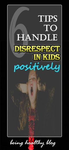 How do you deal when your kid is being disrespectful? Isn't it really a tough situation? Something that you would need a solution to asap. Read on to learn how to control the behavior. #parenting #parenthood #discipline #respect