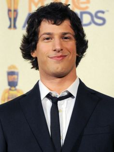 Andy Samberg. He's a total goof and I love it <3