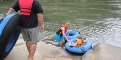 tubing on the Saluda River in Columbia, South Carolina