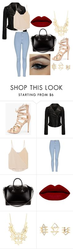 """""""oh baby, i want you to take me serious"""" by cutiepiemandiii ❤ liked on Polyvore featuring Chelsea Flower, Topshop, Givenchy, Charlotte Russe, women's clothing, women, female, woman, misses and juniors"""