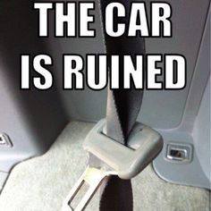 Check out: The car is ruined! One of our funny daily memes selection. We add new funny memes everyday! Bookmark us today and enjoy some slapstick entertainment! Funny Quotes, Funny Memes, Jokes, Car Memes, Laugh Quotes, Haha Funny, Funny Stuff, Funny Things, Funny Shit