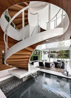 Diseño de escaleras caracol